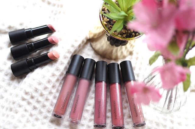 bareminerals Gen Nude lip collection review