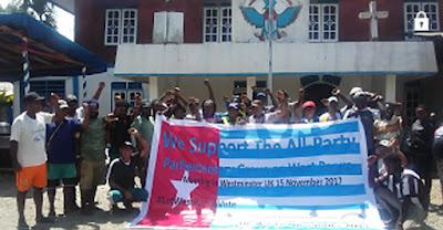 """KNPB dan PRD di Timika Mendukung Pertemuan """"The All-Party Parliamentary Group on West Papua"""""""