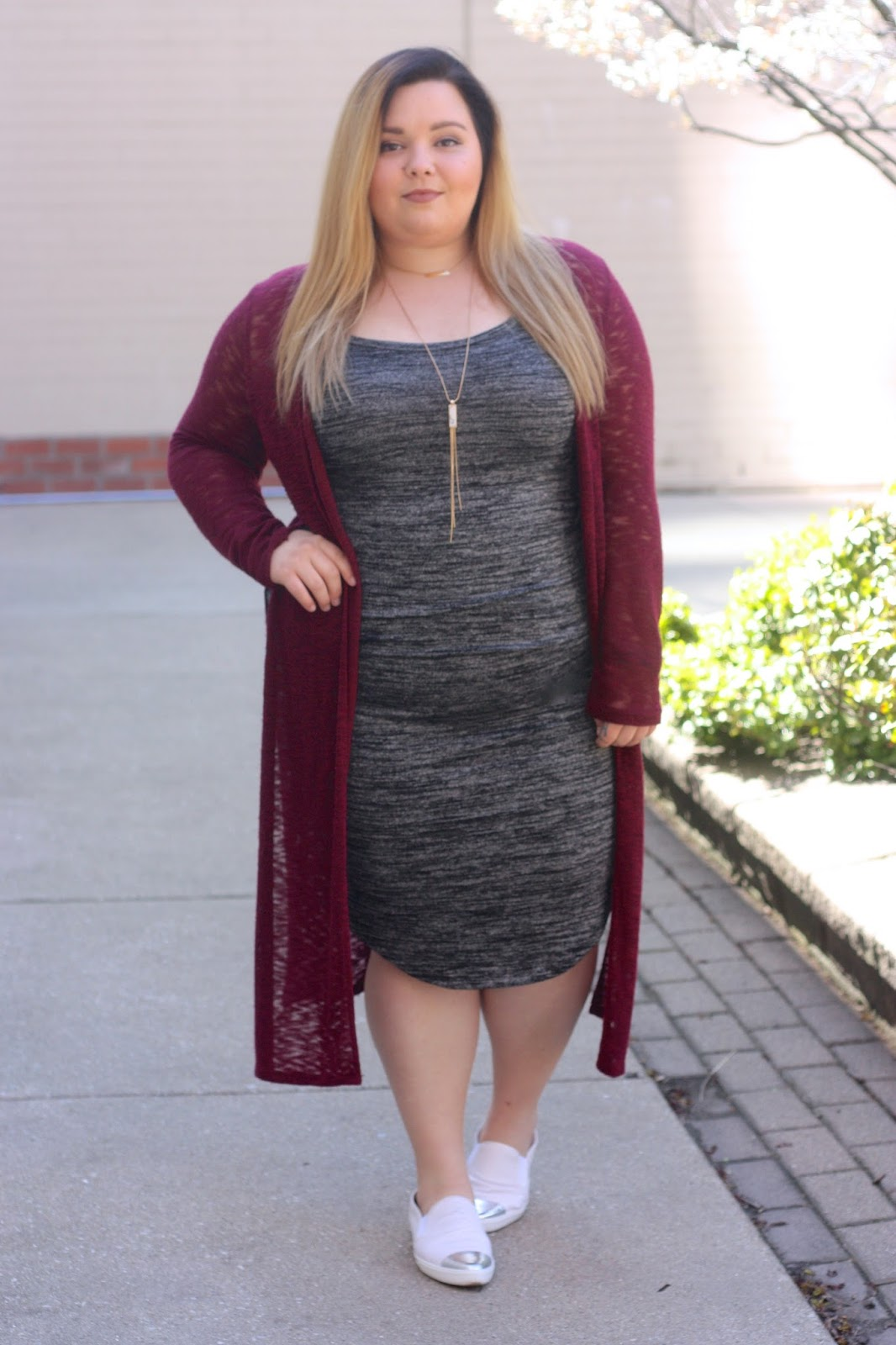 marbled maxi cami dress, maxi bergundy cardigan, plus size, fashion blogger, natalie craig, natalie in the city, plus size fashion blogger, snakeskin sneakers, chrome toe sneakers, marble jewelery
