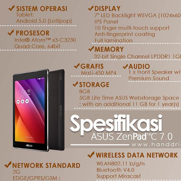 Asus ZenPad C 7.0 Tablet 7 Inch sebagai Pusat Hiburan dan Multimedia Online