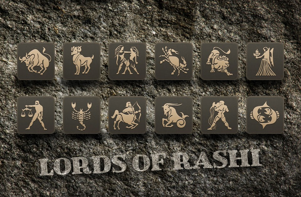 More about the lords of rashi (zodiac signs) - Vedic