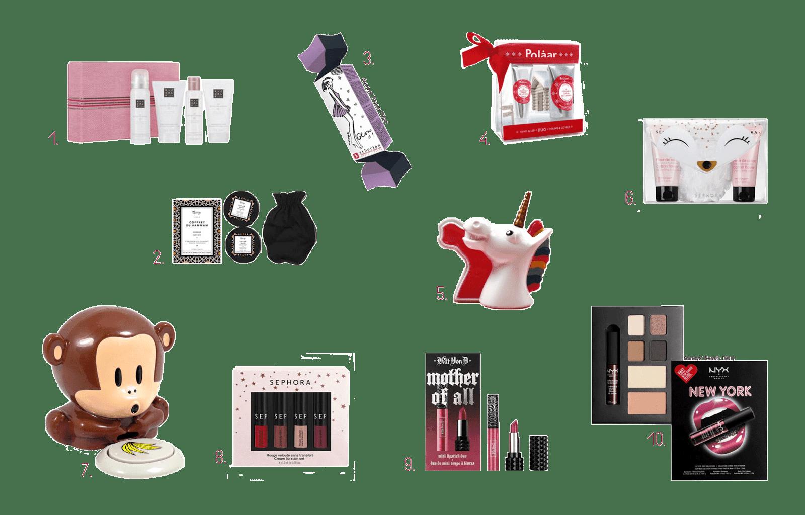 idées cadeaux petit prix noël 2017 beauté soin