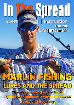 in the spread fishing videos marlin trolling lures david brackmann
