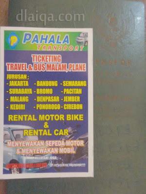 Pahala Transport - Sewa Sepeda Motor