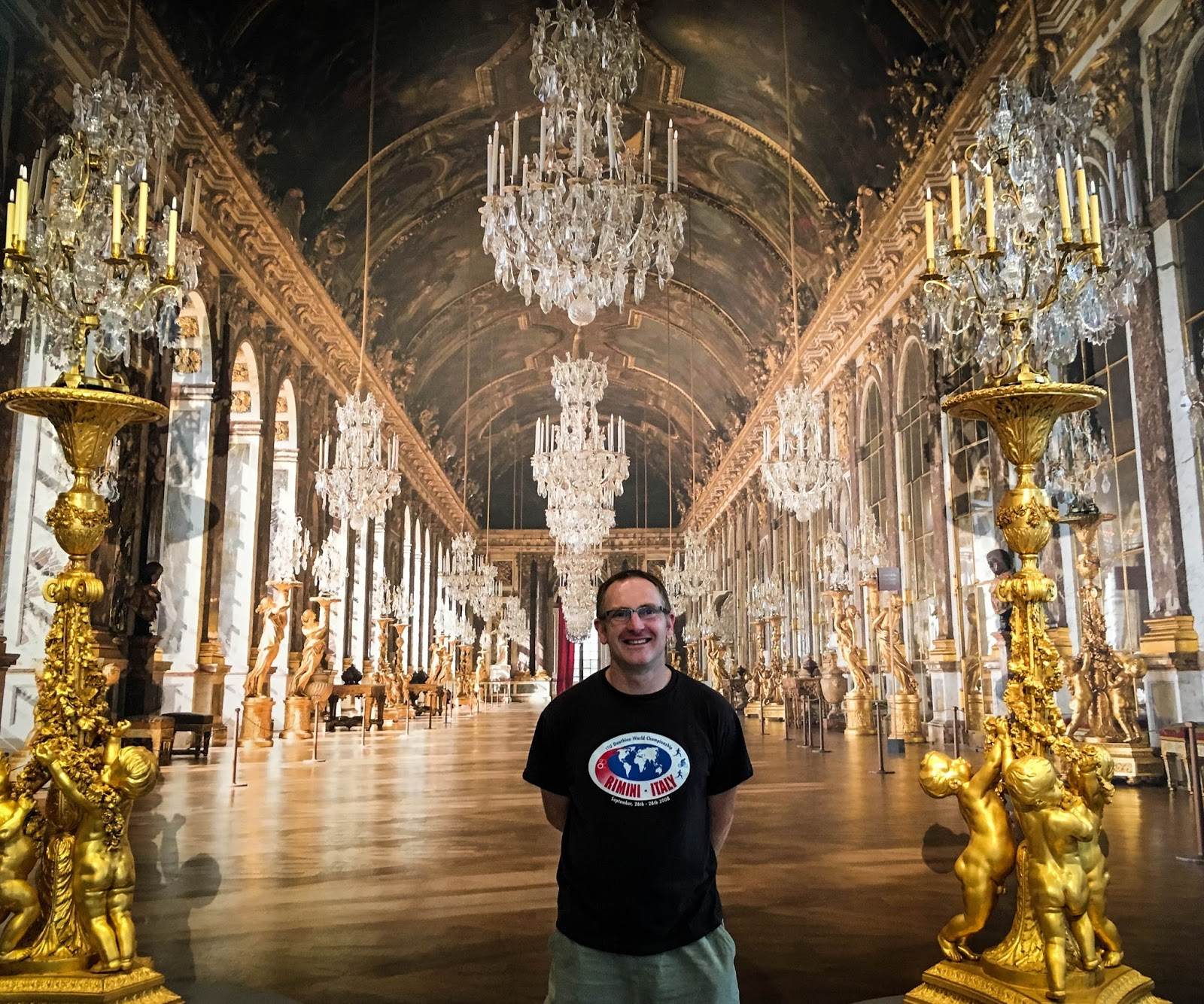 Those Who Have Never Been There Could Get A Feel For The Place By Standing Against Backdrop Of Hall Mirrors