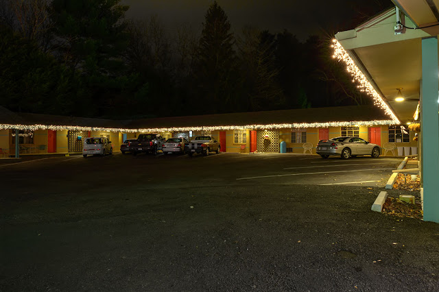 The Sunset Motel in Brevard, NC