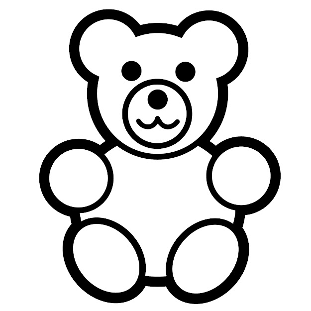 Dazzling Design Inspiration Teddy Bear Coloring Pages  Lovely Ideas  Free Printable Teddy Bear Coloring Pages