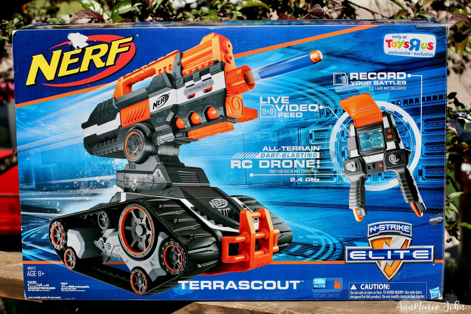 Summer Fun with Nerf Terrascout Drone