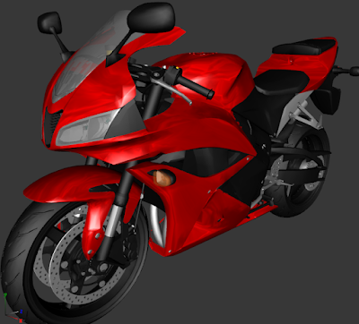 GTA SA - CBR 600F LOW POLY 13 MB