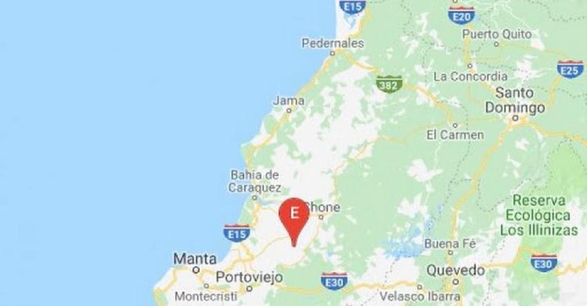 Sismo en Ecuador de Magnitud 4.9 (Hoy Jueves 20 Septiembre 2018) Temblor Epicentro - Calceta - Manabí - IGEPN - www.igepn.edu.ec