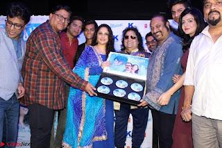 Gracy Singh and Bappi Lahiri   Blue Mountain Music Launch IMG 0709.JPG