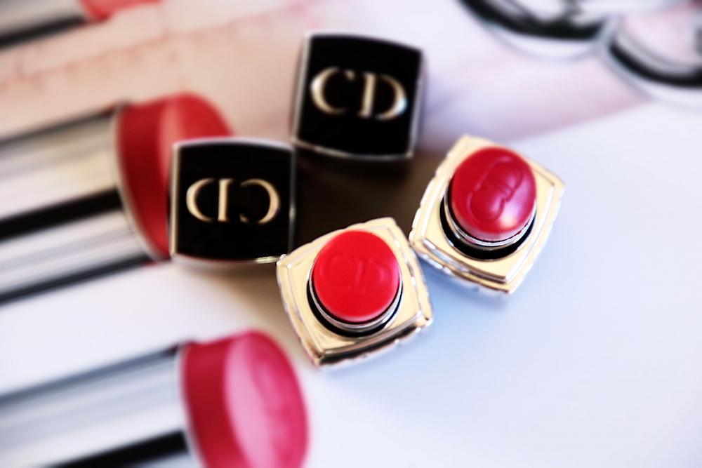 dior rouge baume dior baume à lèvres 678 gala 668 cotillon avis test swatch