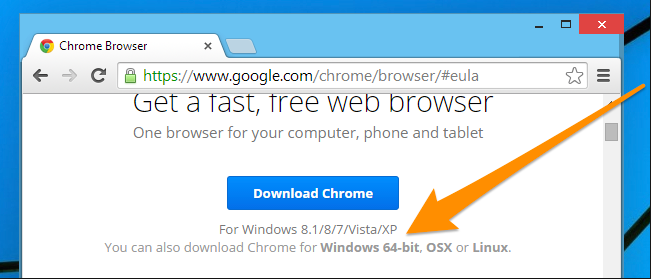 chrome browser free download for windows 7 64 bit