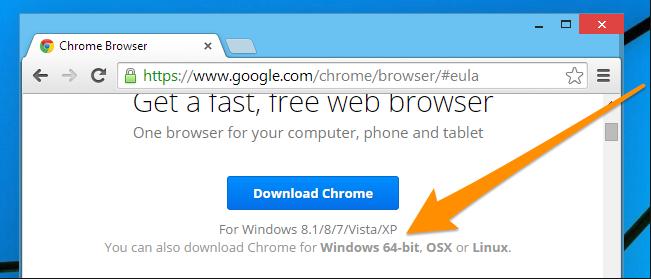 google chrome download for pc windows 8.1 64 bit free