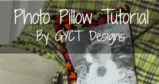 how to make a picture collage pillow