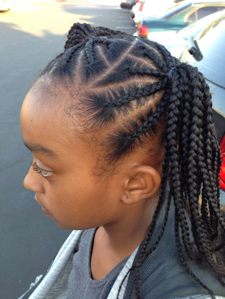 Fine Top 60 Black Braids For Kids Hairstyles Gallery Hairstyle Inspiration Daily Dogsangcom