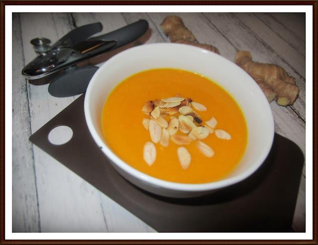 Krem z Dyni z Nutą Pomarańczy