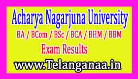 ANU Degree 1st Year 1st Sem Regular Results 2017