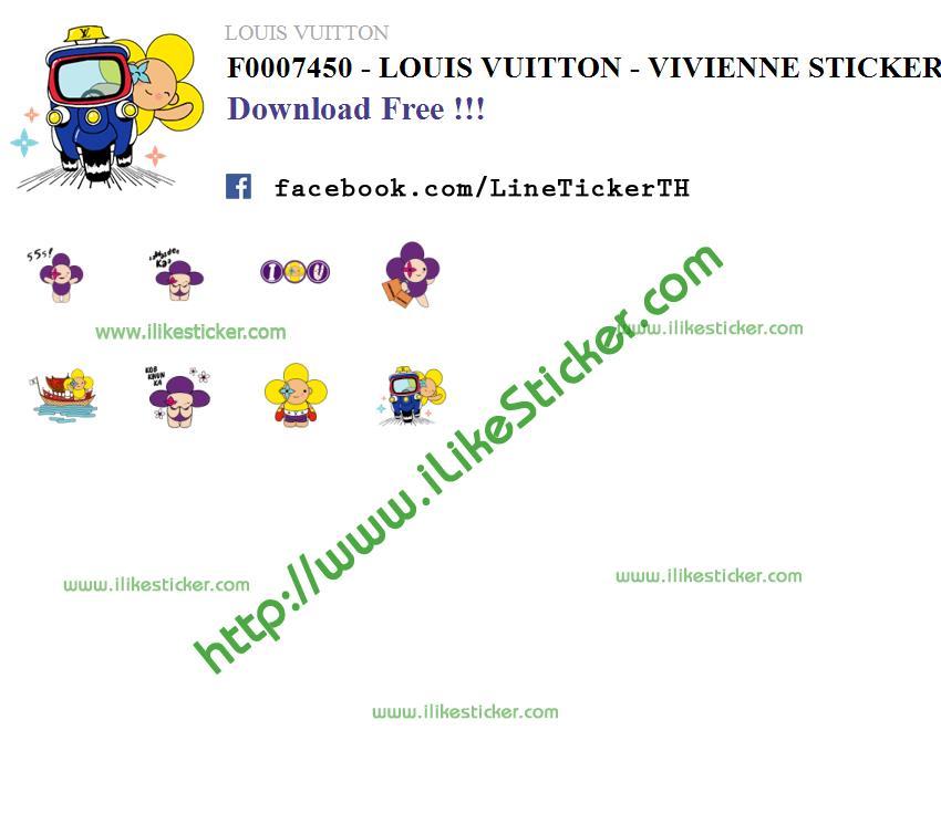 LOUIS VUITTON - VIVIENNE STICKERS