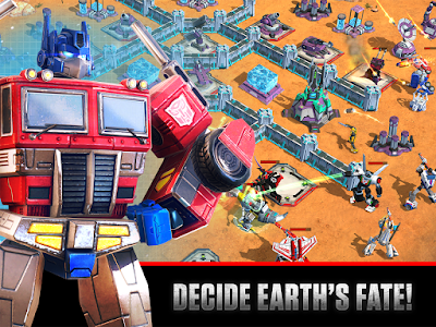 Tampilan Game Transformers: Earth Wars
