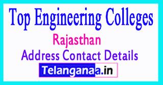 Top Engineering Colleges in Rajasthan