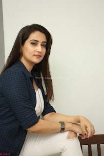 Manjusha in White Tight T Shirt and Black Jacket ~  Exclusive Celebrities Galleries 001.JPG