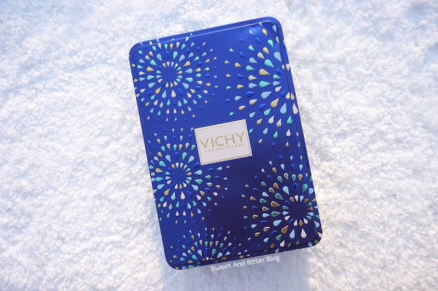 Vichy Gift Hamper Blue Tin Box