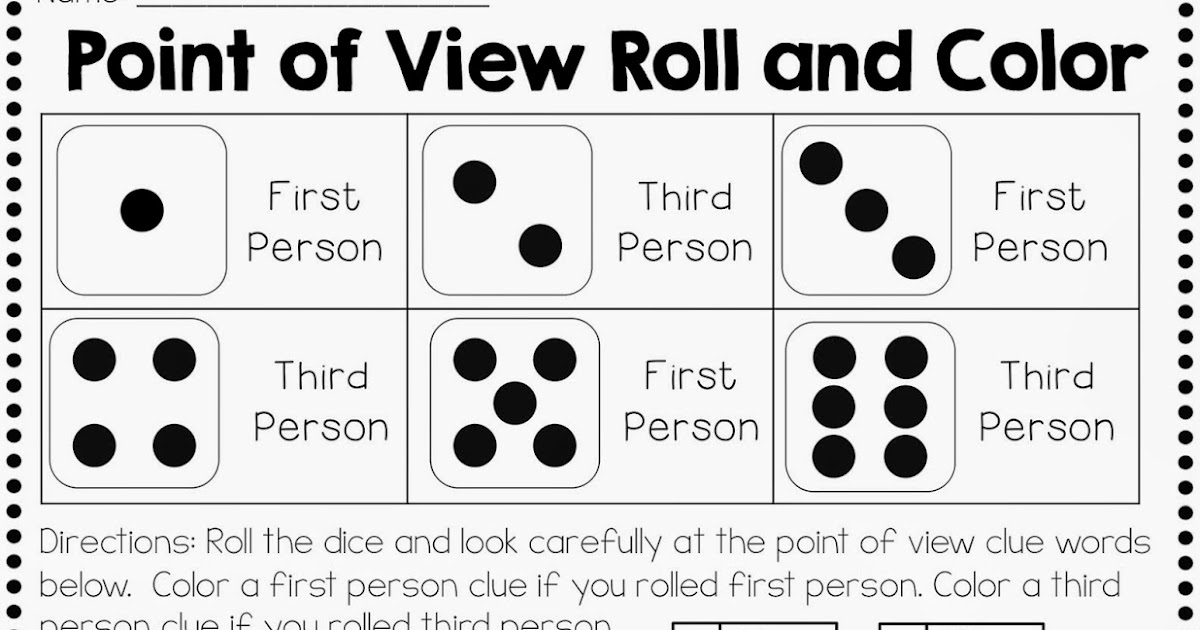Fourth and Ten: Point of View Freebie