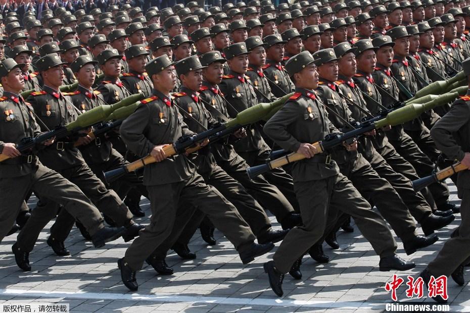 KPA - Korean People's Army - Image Copyright BlogSpot.Com and ChinaNews.Com