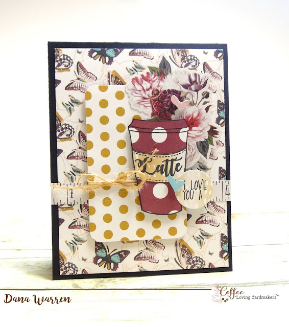 Dana Warren - Kraft Paper Stamps - Joy Clair Stamps