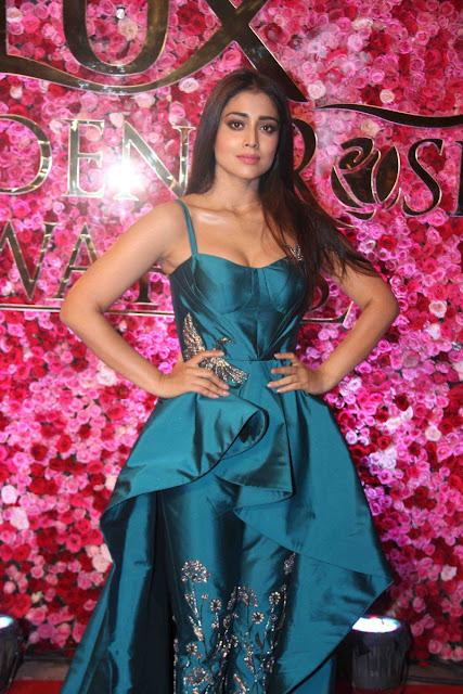 Shriya saran at Lux golden rose Awards