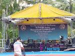 Persiapan Crew Cak Nun, Untuk Acara Sinau Bareng Cak Nun dan Kiai Kanjeng Nanti Malam di Desa Megulunglor