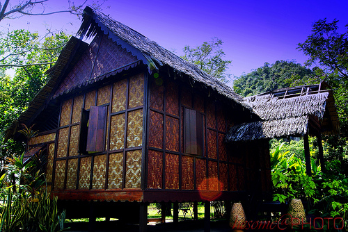 Bicara Gambar Rumah Tradisional Malaysia