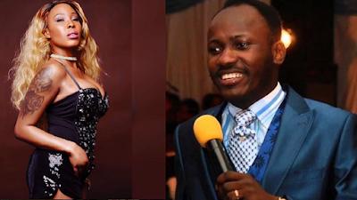 Sex scandal : Stephanie Otobo and Apostle Suleman