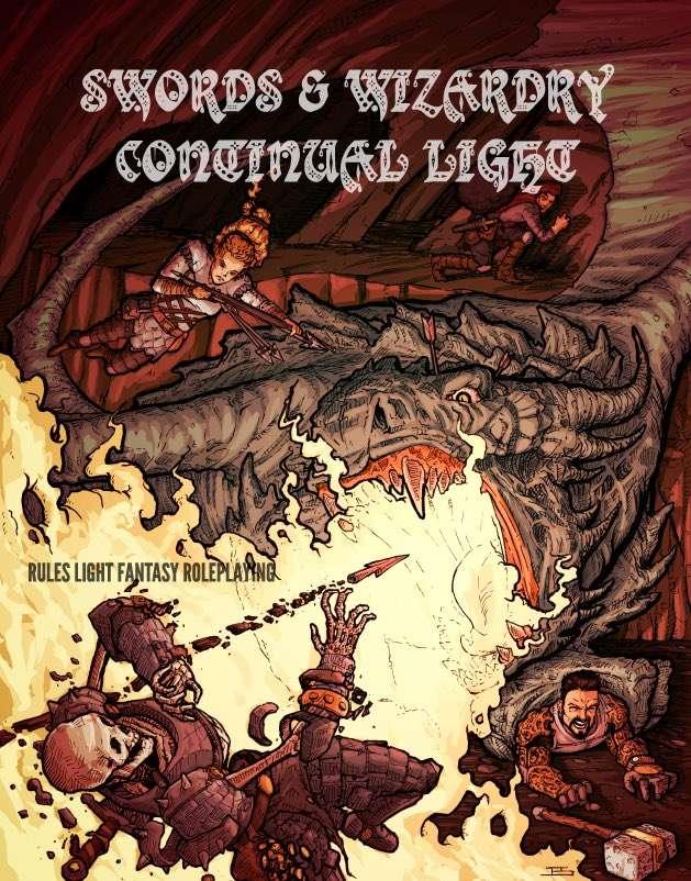 Tenkar's Tavern: Swords & Wizardry Continual Light 2 0 - Er, Say What!?!