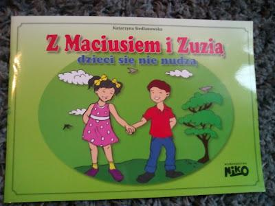 Wydawnictwo NIKO- Z Maciusiem i Zuzią dzieci się nie nudzą