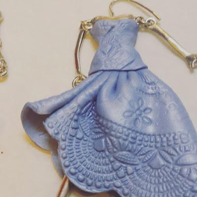 tutorial bambolina bijoux abito polimerico