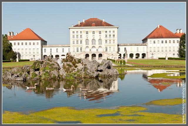 Castillo y parque de Nymphenburg Munich (Alemania)