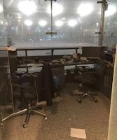 Imagen del aeropuerto Atatürk tras el atentado