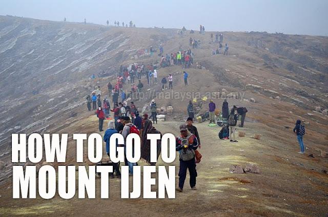 Best way to go to Mount Ijen