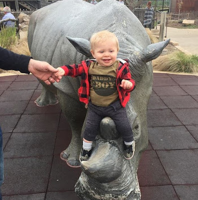 Gideon Forsyth at the Tulsa Zoo