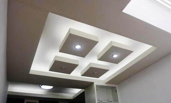 warna plafon ruang tamu sederhana
