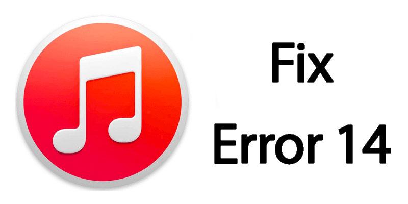 fix itunes error 14