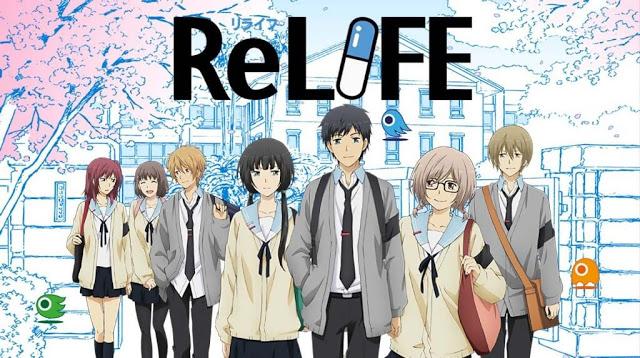 Relife di Rekomendasi Anime Romance - Drama Terbaik