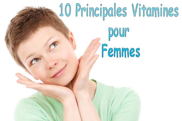Les 10 Principales Vitamines pour les Femmes