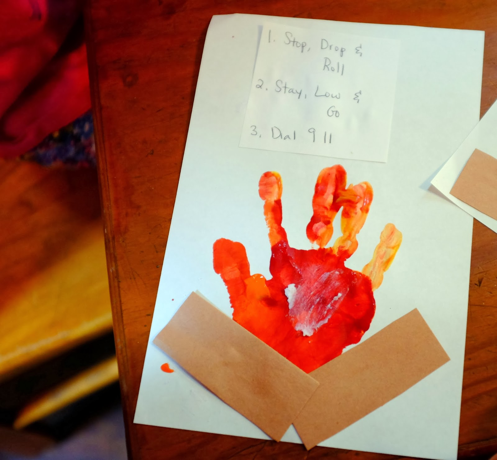 The Tillery Times: Preschool Co-op: Fire Safety