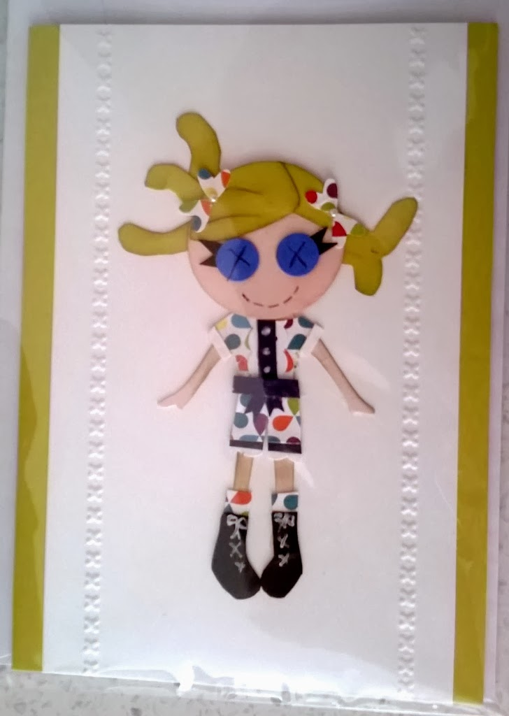 My little gal pent demonstratoraper piecing by Zena Kennedy Stampin Up independ