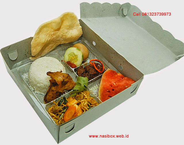 Nasi kotak ramadhan ala ciwidey