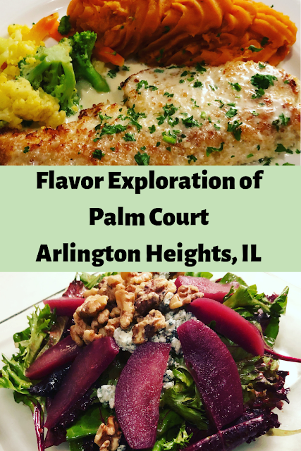 Local culinary exploration at Palm Court in Arlington Heights, Illinois
