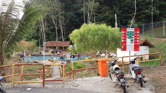 Kolam Air Panas @ Kuala Kubu Bahru